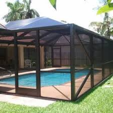 custom pool enclosure hexagon shape. Custom Pool Enclosure Hexagon Shape. Exellent  Shape Swimming Screen Orlando D