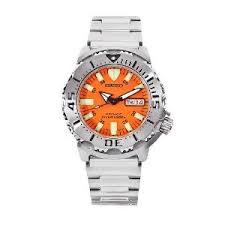 amazon com seiko men s skx781 orange monster automatic dive seiko men s skx781 orange monster automatic dive watch