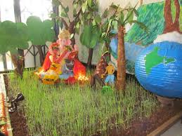 decoration ideas for ganesh chaturthi at home photo credit eco friendly ganesh