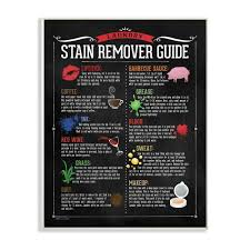 laundry stain remover guide by