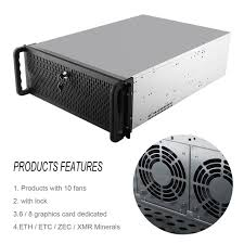 Open Air Mining Frame Rig Graphics Case Gpu Atx Fit 6 8 Graphics