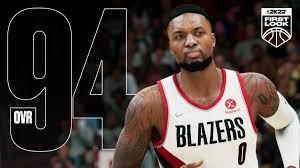 Damian Lillard NBA 2K22 Rating (Current ...