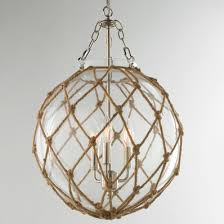 beachy ceiling fans. Rope Net Glass Sphere Chandelier Beachy Ceiling Fans ,