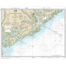 Noaa Chart Charleston Harbor And Approaches 11521