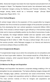 Vertical Merger Example Merger And Acquisition As An Indispensable Tool For Strengthening