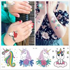 LOLEDE <b>1pcs Kids</b> Pretty Cartoon Unicorn Color Paper Toys ...
