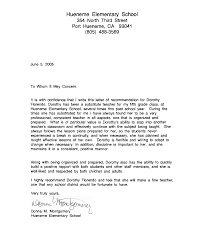 Teacher Recommendation Template Recommendation Letter For Student From Teacher Template