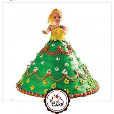 Send Barbie Cake To Noida Buy Barbie Cake Online