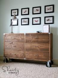 Free Plans To Build A Rolling Dresser From Ana White.com