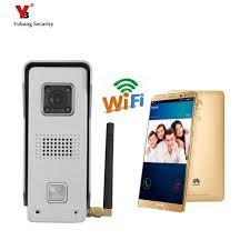 yobang security 5 units apartment 7inch video doorbell door phone visual speakerphone intercom camera monitor system