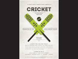 Event Ticket Printing Software Designcontest Cricket Event Ticket Poster Ticketprinting Com
