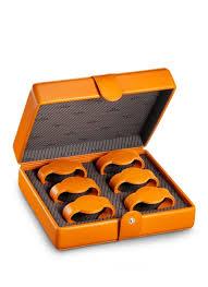 omega watches watch boxes watch storage box 6 pcs orange