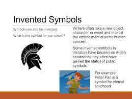 symbolism what symbols stand for a symbol is often an ordinary  invented symbols symbols can also be invented what is the symbol for our school