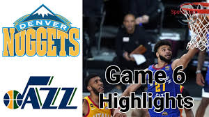 Nuggets vs Jazz HIGHLIGHTS Full Game | NBA Playoffs Game 6 August 30, 2020  - YouTube