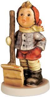 Hummel figurine let it snow, <b>original</b> MI Hummel <b>Collection</b>, <b>gift</b>-boxed