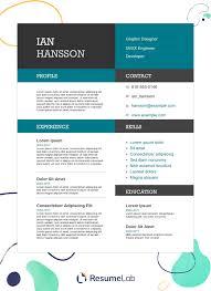 Modern Resume For Freshmen Free Resume Templates Download Start Making Your Resume