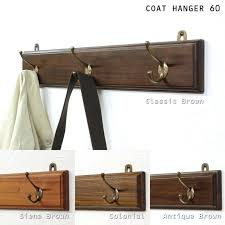 wall coat hook multiple purchase target a teak wood wall hangers hanging wall mounted coat wall coat hook