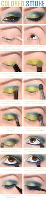colorful smokey eye tutorial 25 easy and dramatic smokey eye tutorials this season