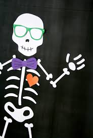 Pin A Bowtie On The Skeleton Game Paging Supermom