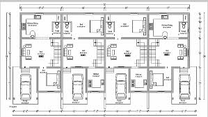 house plan unique triplex plans india houses