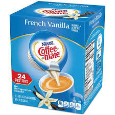 As america's #1 creamer brand, coffee mate makes coffee creamer singles that blend quickly and completely into hot or cold beverages. Coffee Mate French Vanilla Liquid Coffee Creamer 24 Ct Box Vanilla Coffee Creamer French Vanilla Coffee Nestle Coffee Mate