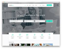 Ad Page Templates Best Free Listing Website Templates 2019 Colorlib
