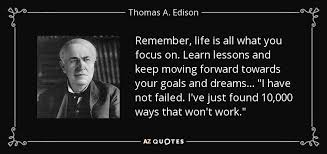 Thomas Edison Quotes Amazing 48 QUOTES BY THOMAS A EDISON [PAGE 48] AZ Quotes