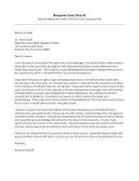Public Health Intern Cover Letter Public Relations Internship Cover