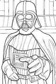 Small Picture Coloring Pages Darth Vader Coloring Pages Portrait Of Darth Vader