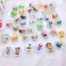 Vending Machine Toys Wholesale Adorable 48pcpack 48mm Diameter Transparent Plastic Ball Capsules Toy With