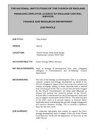 Data Analyst Job Duties Data Analyst Job Description