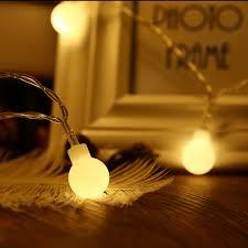 Mini Globe String Lights Battery Operated 40 Led Battery Operated Globe String Lights Warm White