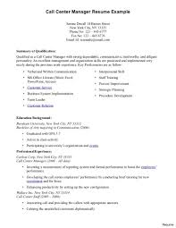 Sample Resume Call Center Agent Perfect Format Throughout - Sradd.me