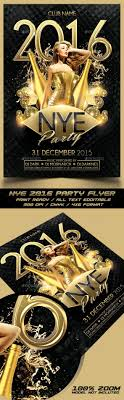 1000 images about new year party flyer templates nye 2016 flyer