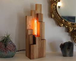 catchy homemade table lamps funky handmade table lamps for your home full home living