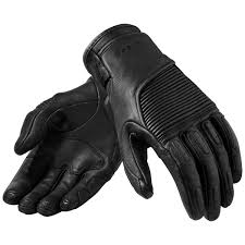 women s bastille black leather gloves