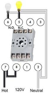 how to wire pin timers no normally open 8 pin timer wiring