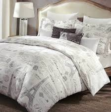Victorian Bedding Collections – Ease Bedding with Style & Paris French Vintage Duvet Quilt Cover by Designer Cynthia Rowley, 3 Piece  Set Adamdwight.com