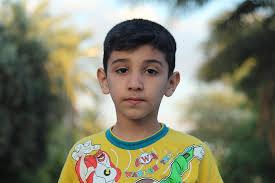 portrait boy summer young male child cute kid
