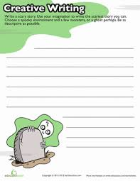 th grade halloween writing prompt worksheets com halloween story starters 4