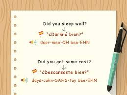 4 Ways To Say Good Morning In Spanish Wikihow