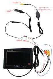 backup camera wiring diagram images if you are not sure which one to choose please do contact us before
