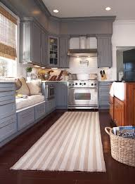 kitchen rugs. Simple Kitchen Kitchen Rugs  Capel Hampton Shingle Stripe Fiber Blend Rug Via  Atticmag With Kitchen Rugs R