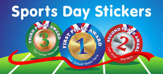 Sports Day Stickers Medals Rewards From School Stickers
