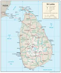Sri Lanka Maps Perry Castañeda Map Collection Ut Library