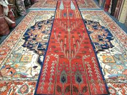 14 foot long rug runner home design ideas best of and tree life in a deep brick red rugs