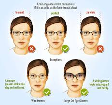 gles frames for woman face shape guide