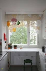 Küche Fenster Modern U Form Mit Schön Unique Within Gardinen Kuche