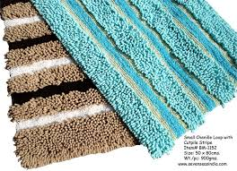 rugs mats bath chenille loop sevenseasindia