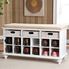 white entryway furniture. Harper Blvd Kelly White Entryway Bench With Shoe Storage - Free Shipping Today Overstock 14324875 Furniture N